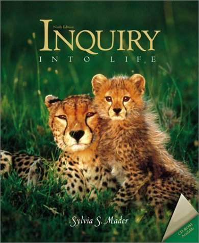 9780072419245: Inquiry Into Life with ESP CD-ROM and E-Text CD-ROM