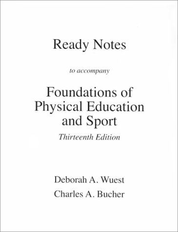 9780072419894: Foundations of Pe and Sport