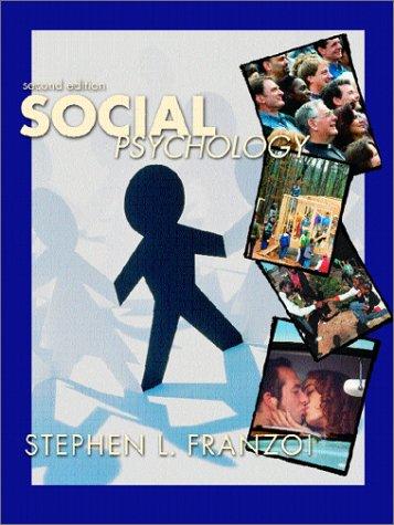 9780072419993: Social Psychology