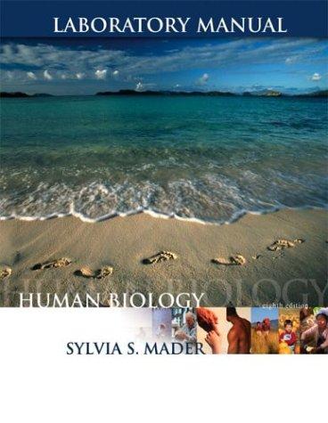 9780072421002: Laboratory Manual to accompany Human Biology