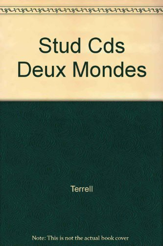 9780072421705: Student CD-ROM Program to accompany Deux mondes: A Communicative Approach