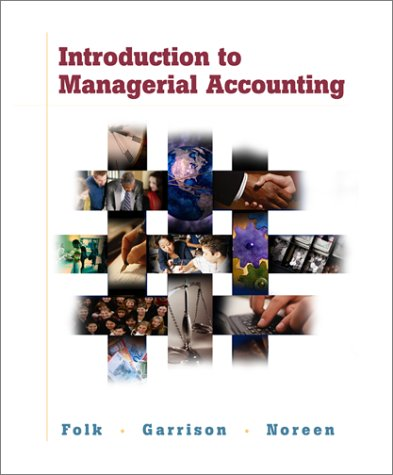 9780072422245: Introduction to Managerial Accounting