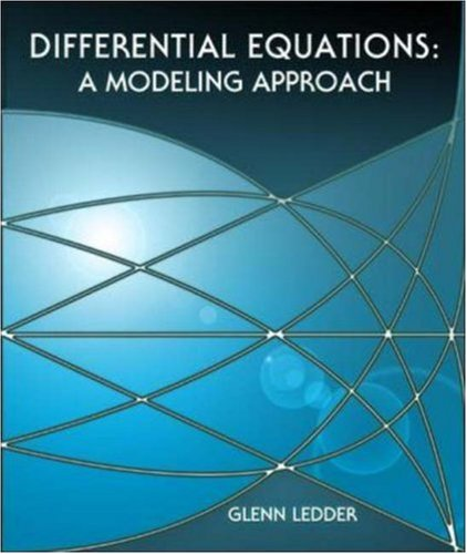 9780072422290: Differential Equations: A Modeling Approach