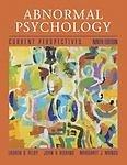 Abnormal Psychology: Current Perspectives: Alloy, Lauren B.,