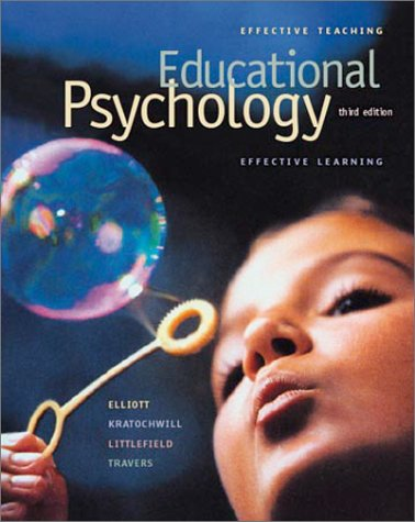 9780072423907: Educational Psychology: Effective Teaching, Effective Learning with Free, Interactive Student CD-ROM