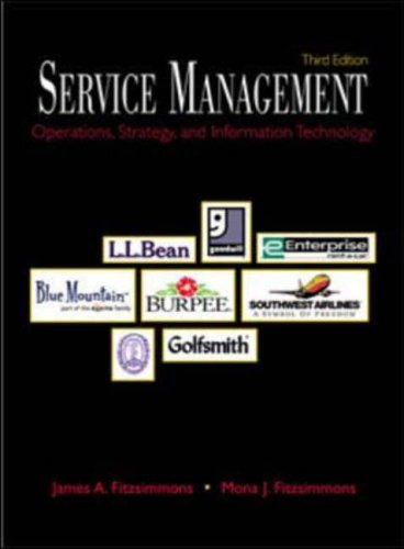 9780072424195: Service Management: Operations, Strategy, Information Technology