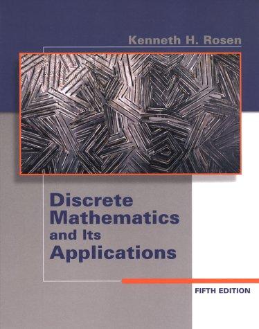 9780072424348: Discrete Mathematics and Its Applications