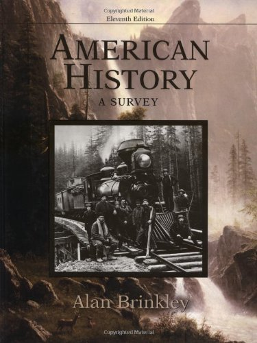 9780072424362: American History: A Survey MP w/PowerWeb
