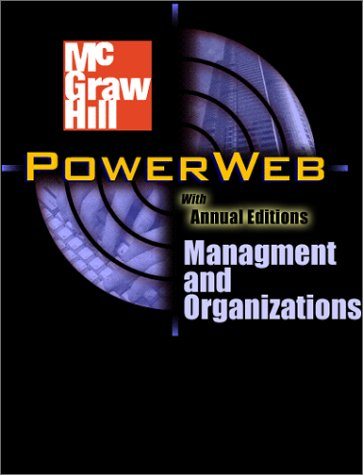 9780072425529: Powerweb: Management and Organizations
