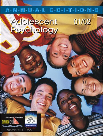 9780072425727: Annual Editions: Adolescent Psychology 01/02