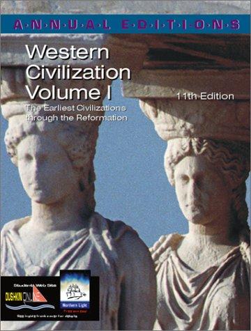 9780072425765: Annual Editions: Western Civilization, Volume 1, 11/e