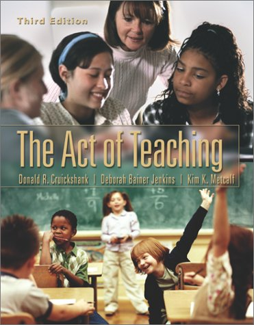 9780072426663: The Act of Teaching