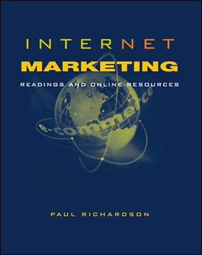 9780072427936: Internet Marketing: Readings and Online Resources