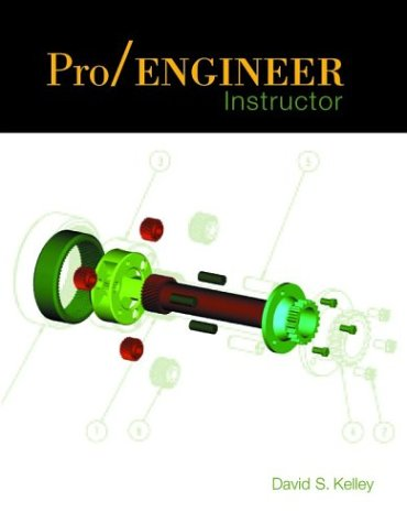 9780072428346: Pro/Engineer Instructor with CD and Quick Reference Insert Card