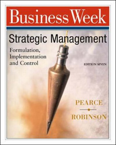 9780072428421: Strategic Management