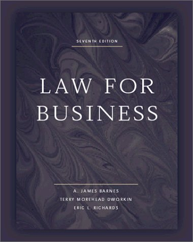 9780072428605: Law for Business