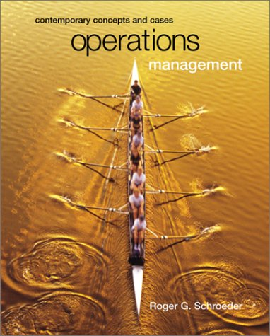 9780072428612: Operations Management : Contemporary Concepts with CD-ROM and PowerWeb