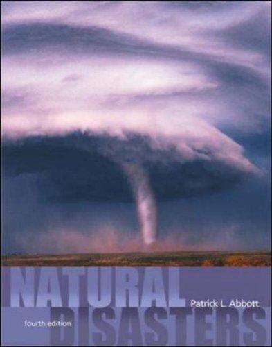 9780072428650: Natural Disasters