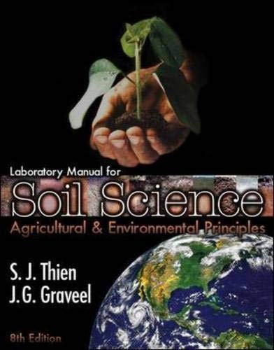 9780072428810: Laboratory Manual for Soil Science: Agricultural & Environmental Principles