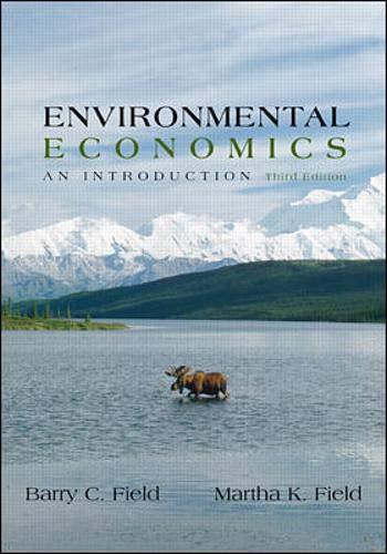 9780072429213: Environmental Economics