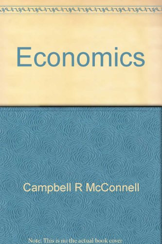 9780072429435: Economics: First CPCU edition