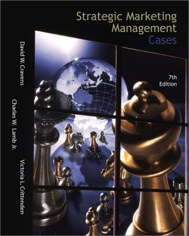 9780072429466: Strategic Marketing Management Cases (The Irwin/Mcgraw-Hill Series in Marketing)