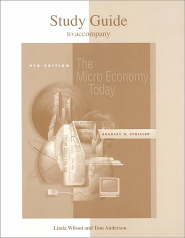 9780072429565: Study Guide for use with The Microeconomy Today