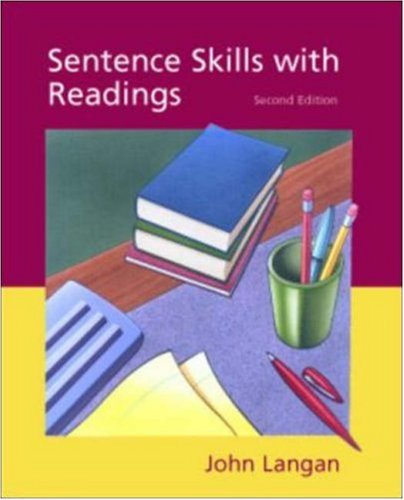 9780072429688: Sentence Skills with Readings