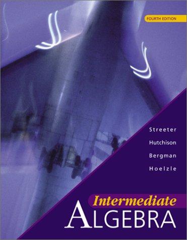 9780072429763: Intermediate Algebra