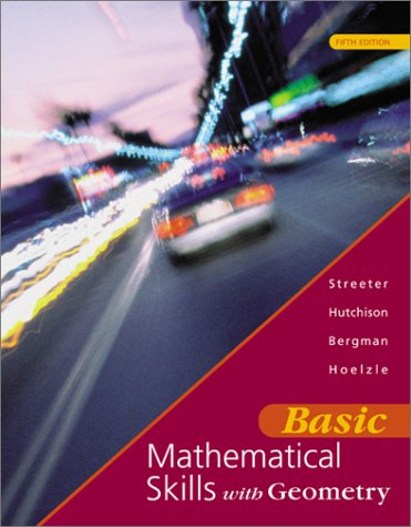 9780072429787: Basic Mathematical Skills With Geometry