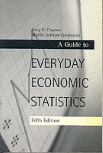 9780072430363: An Everyday Guide to Economic Statistics