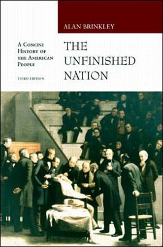 9780072430509: Unfinished Nation with E-source CD ROM; MP