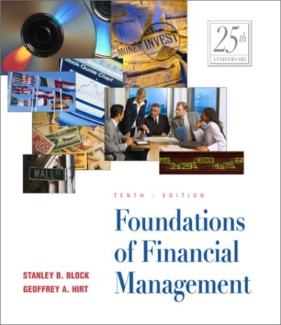 9780072430752: Foundations of Financial Management