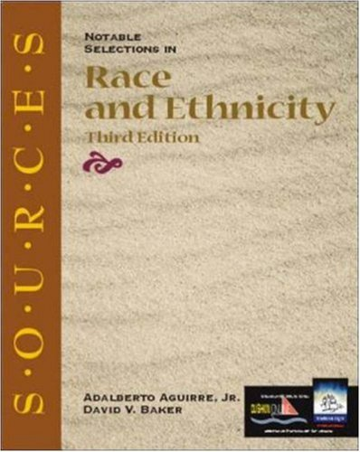9780072430899: Sources: Notable Selections in Race and Ethnicity (Classic Edition Sources)