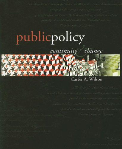 9780072432008: Public Policy: Continuity & Change