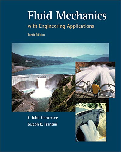 9780072432022: Fluid Mechanics With Engineering Applications (McGraw-Hill Series in Civil and Environmental Engineering)