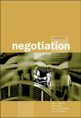 9780072432558: Negotiation