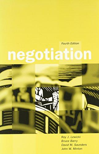9780072432558: Negotiation