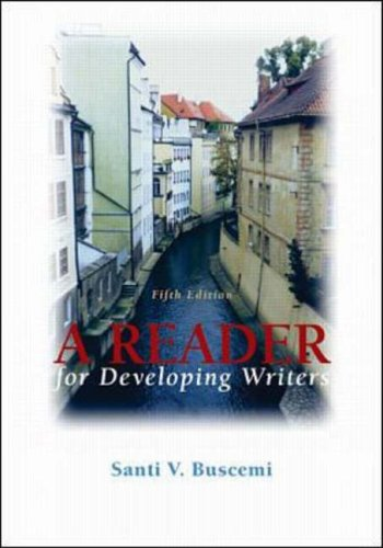 9780072432640: A Reader for Developing Writers
