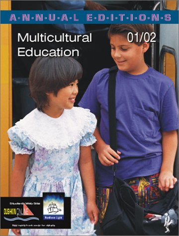 9780072432923: Annual Editions: Multicultural Education 01/02