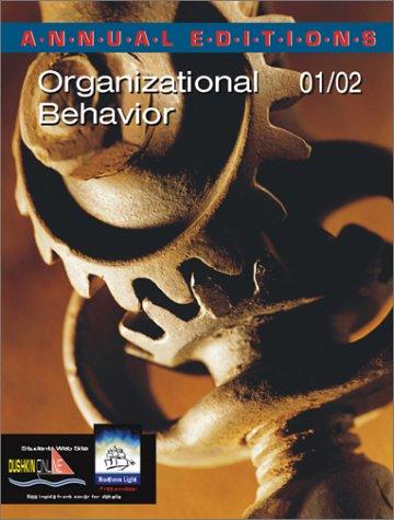9780072433128: Annual Editions: Organizational Behavior 01/02
