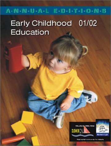 9780072433142: Annual Editions: Early Childhood Education 01/02