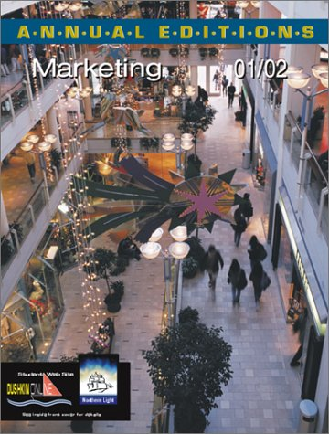 9780072433524: Annual Editions: Marketing 01/02