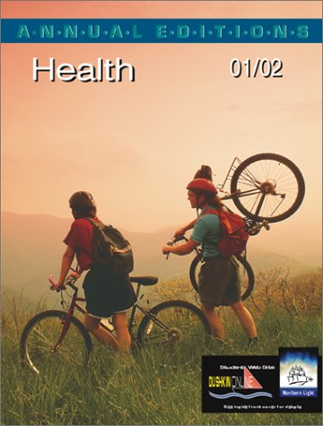 9780072433647: Annual Editions: Health 01/02