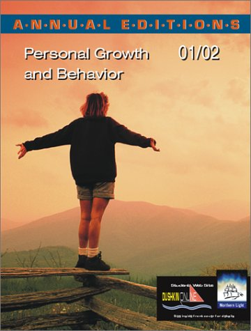 9780072433739: Annual Editions: Personal Growth and Behavior 01/02