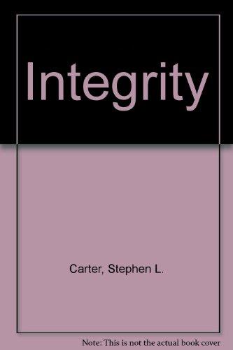 9780072434262: Integrity