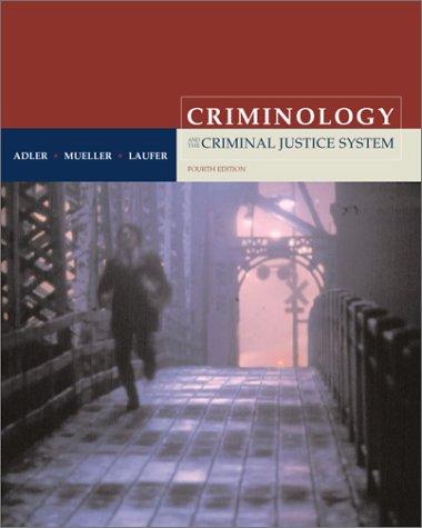 9780072434897: Criminology