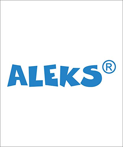 9780072435481: ALEKS for Mathematics, Two Semesters UG & Access Code Standalone