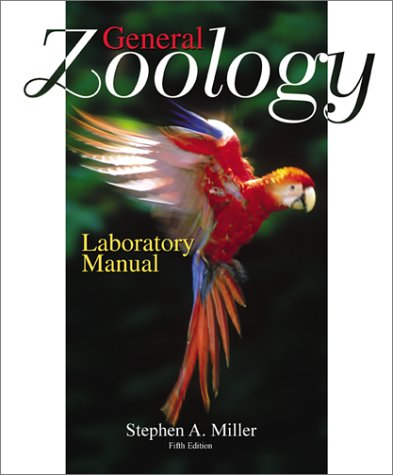 9780072435597: General Zoology Laboratory Manual