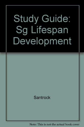 9780072436006: Study Guide to accompany:  A Topical Approach to Life-span Development